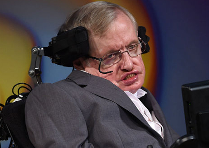 File pic of Stephen Hawking
