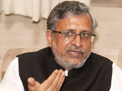 Bihar Deputy CM Sushil Modi