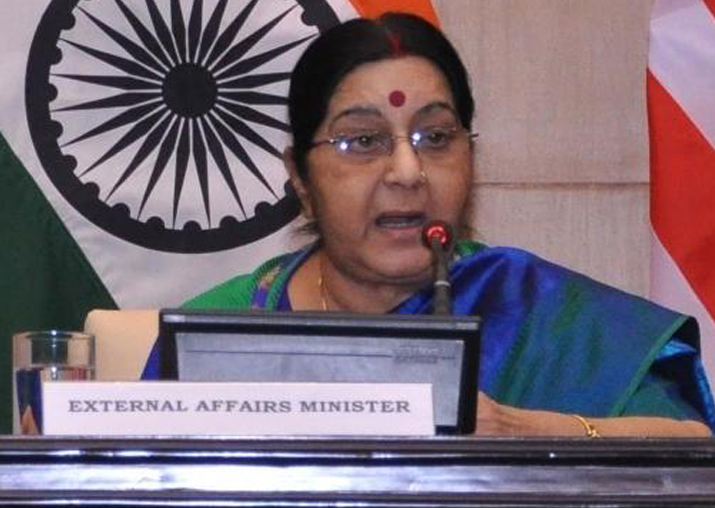 Sushma Swaraj assures medical visa to four Pakistani