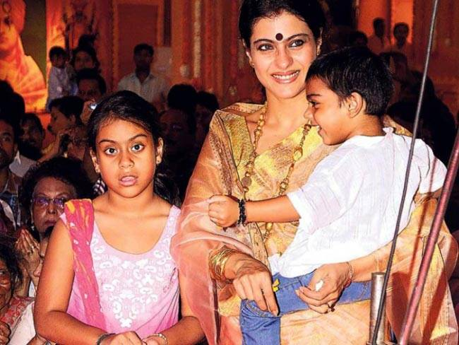 My biggest gurus are my kids Nysa and Yug: Kajol