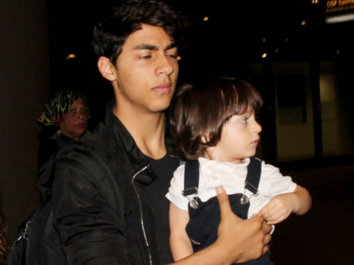 India Tv - aryan with abRam