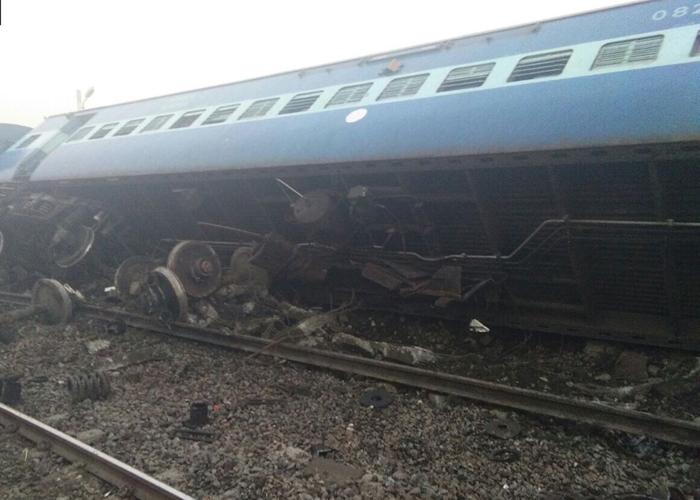 The derailment of train no. 12741 took place near Manikpur