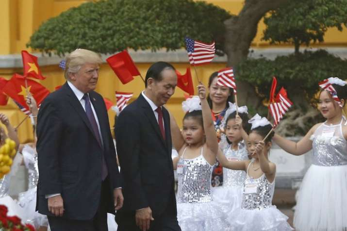 Donald Trump's Asia trip ends as it begins: shadowed by