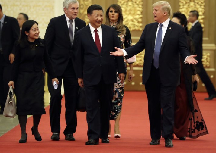 Donald Trump salutes 'growing friendship' with China