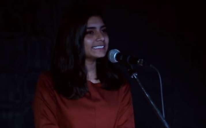 Afreen Khan narrated her sexual assault story at an open mic