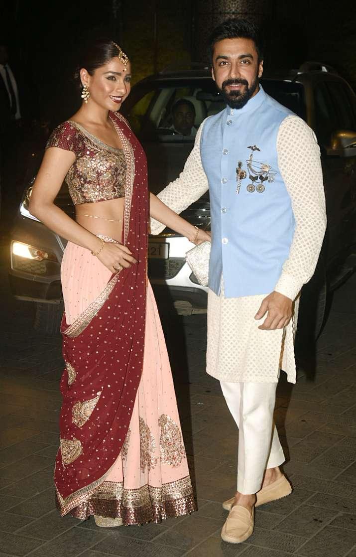 India Tv - Zaheer Khan-Sagarika Ghatge post-wedding party