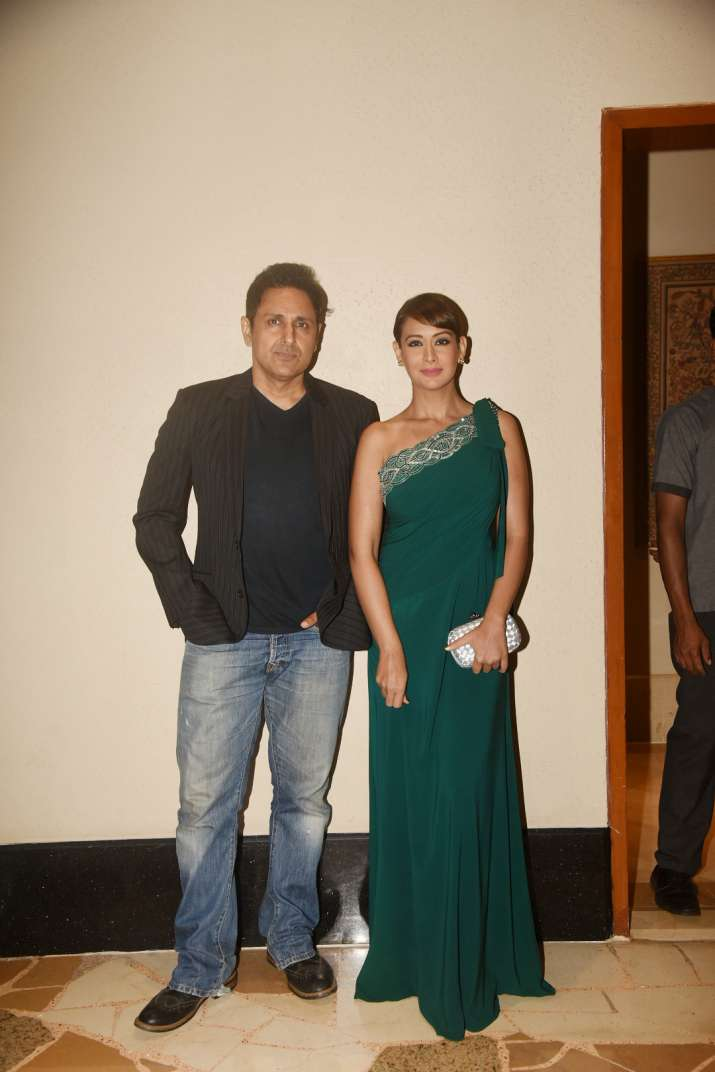 India Tv - Preeti Jhangiani with husband