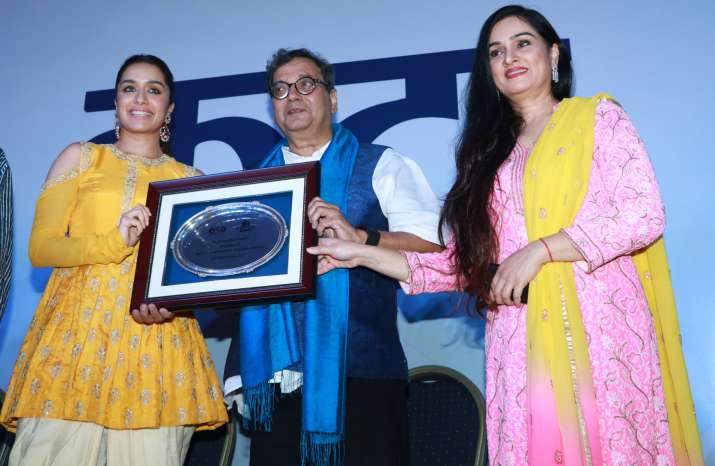India Tv - Shraddha, Padmini, Subhash Ghai