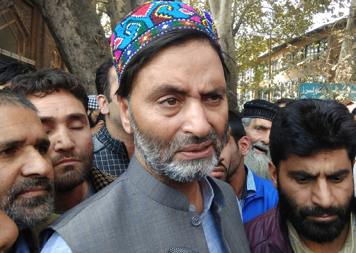 File pic of Yasin Malik