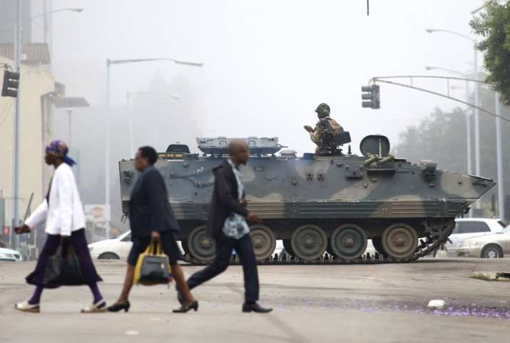 Zimbabwe's army said Wednesday it has President Robert