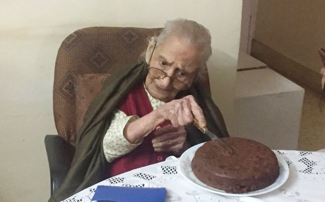 107-year-old woman in Bangaluru finds Rahul Gandhi