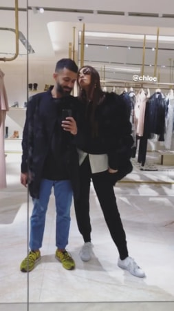 India Tv - Sonam Kapoor with Anand Ahuja in London