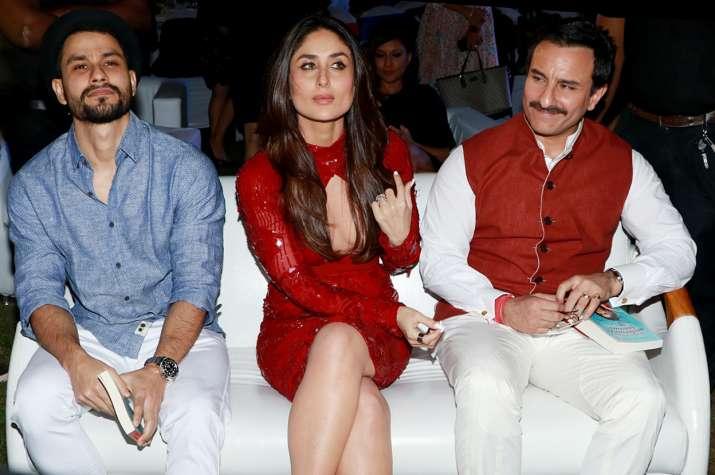 India Tv - Saif, Kareena with Kunal Khemu