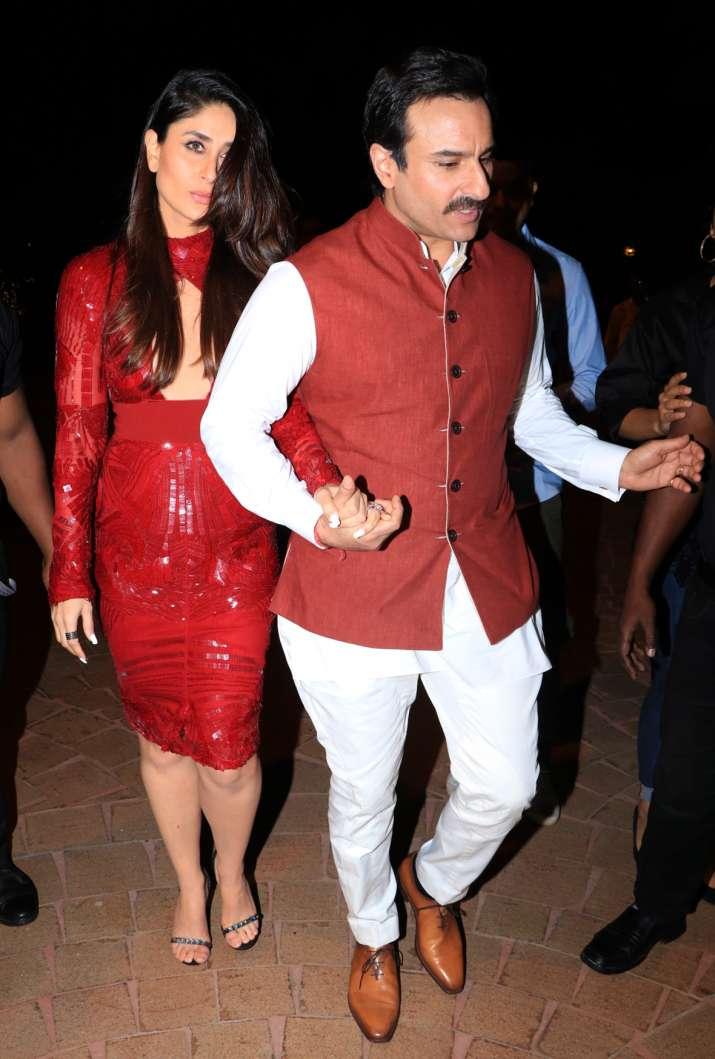 India Tv - Kareena with Saif