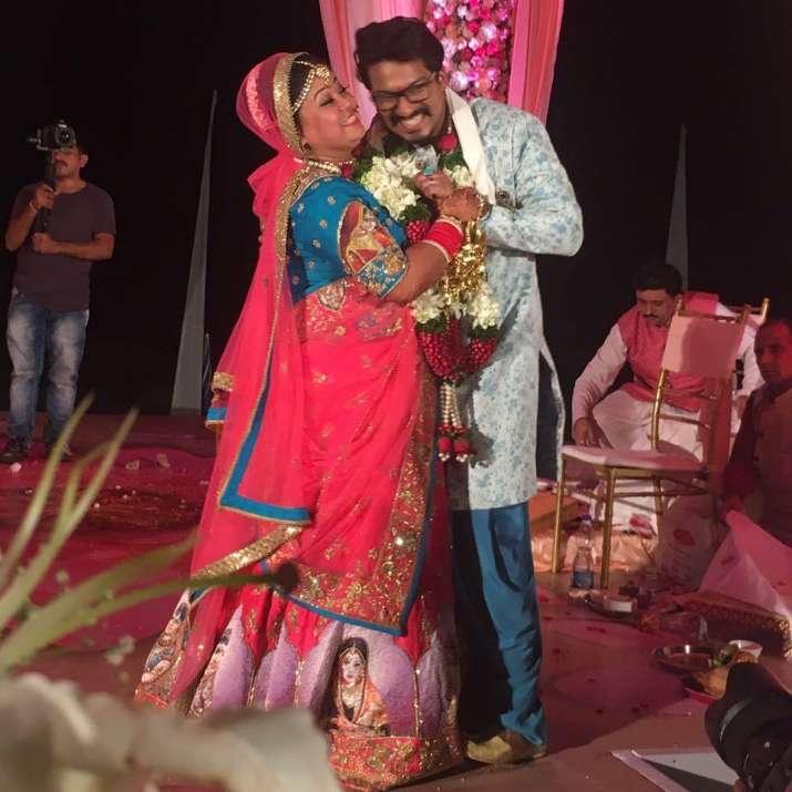 India Tv - Bharti Haarsh wedding