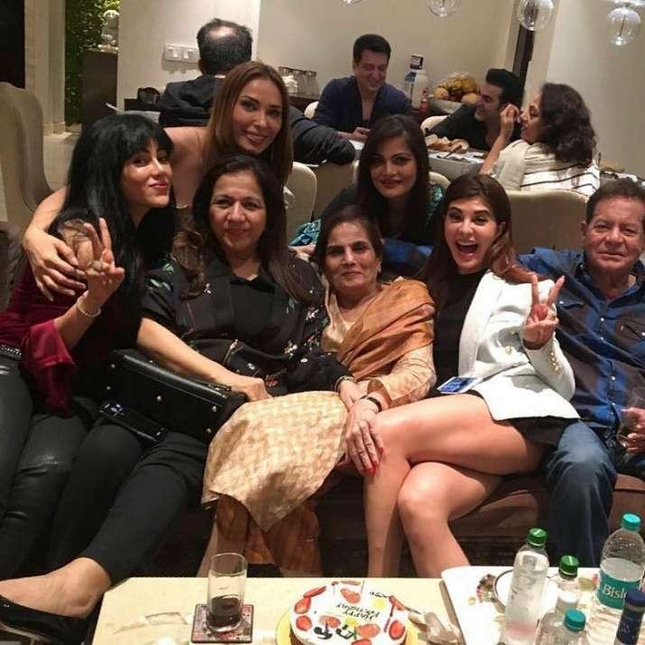 India Tv - salma khan birthday bash