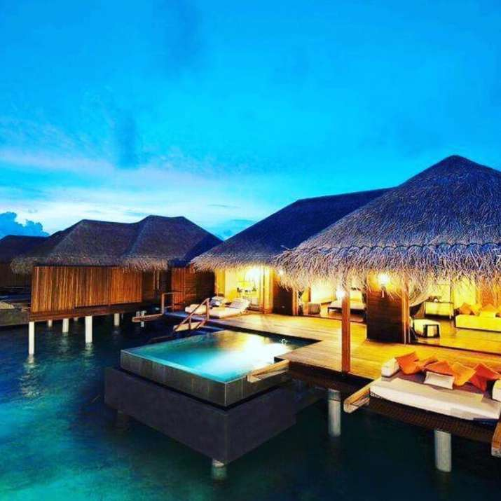 India Tv - The couple is staying at exotic Ayada resort in Maldives.