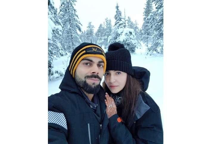 virat kohli anushka sharma honeymoon pictures