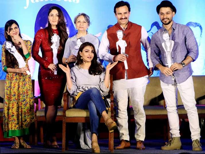 India Tv - Soha Ali Khan book launch