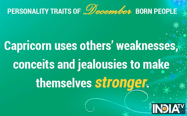 India Tv - Personality traits of December-born