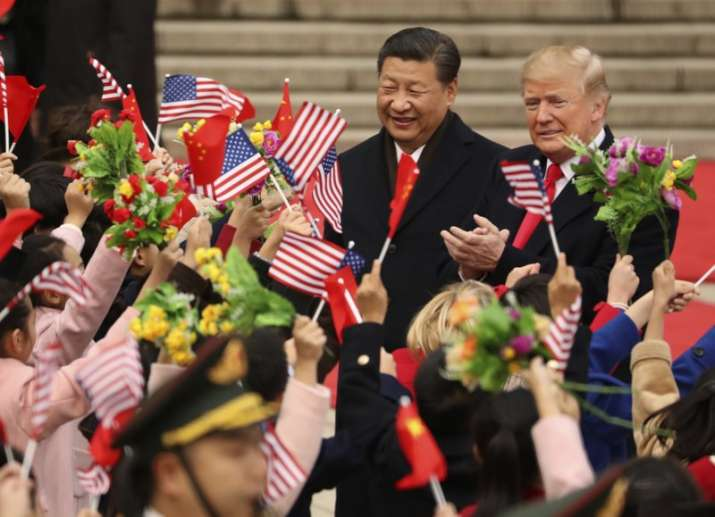 President Donald Trump and Chinese President Xi Jinping