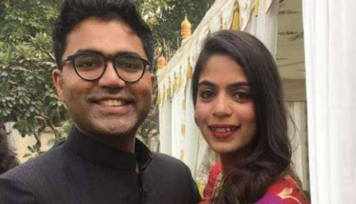 India Tv - Devika Narain with husband