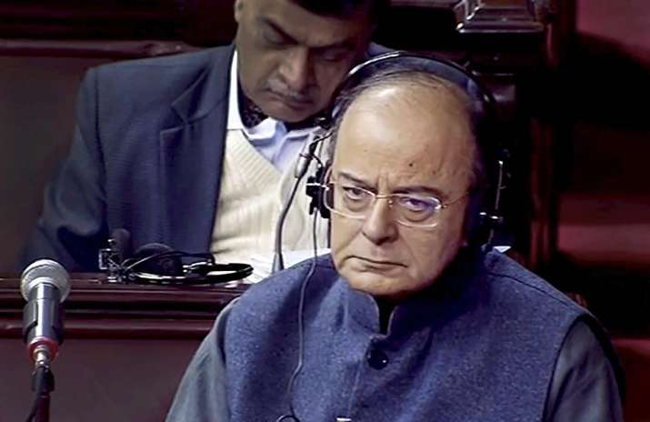 Finance minister Arun Jaitley informed the Parliament that
