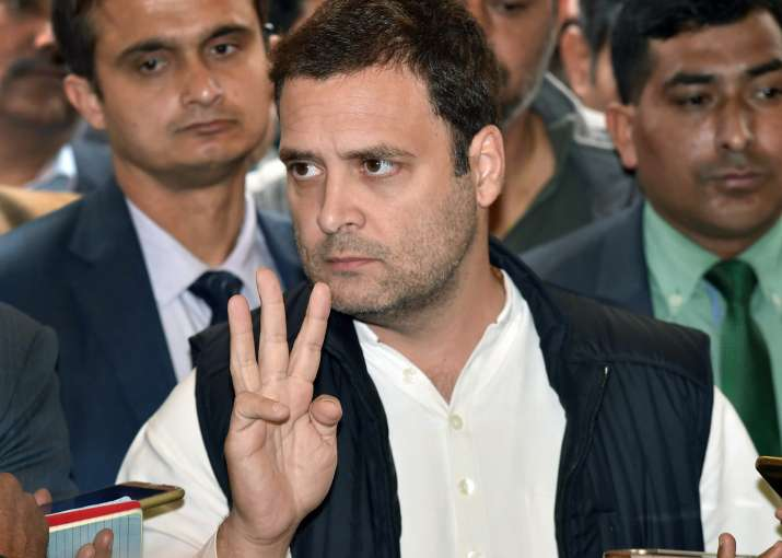 Rahul Gandhi faces criticism for watching 'Star Wars' right