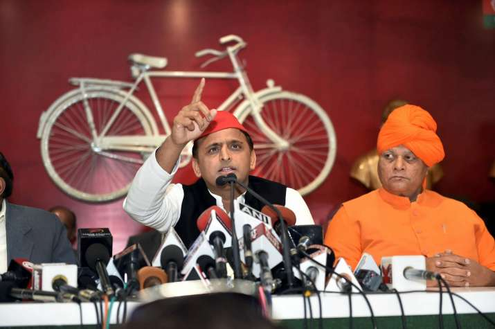 SP chief Akhilesh Yadav
