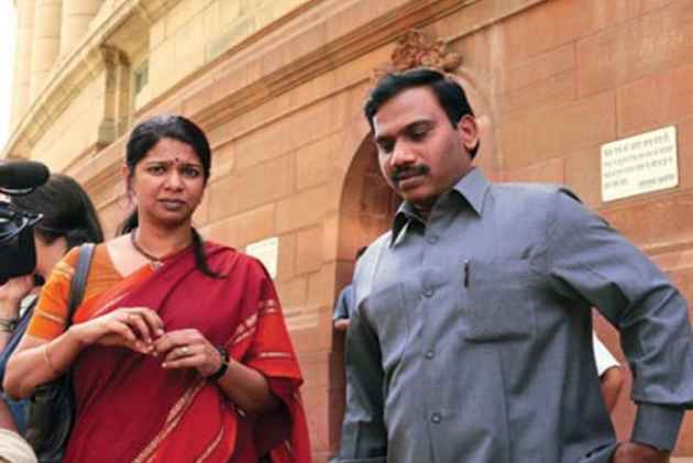 File photo of DMK leader Kanimozhi and former telecom