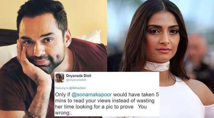 India Tv - Abhay Deol, Sonam Kapoor