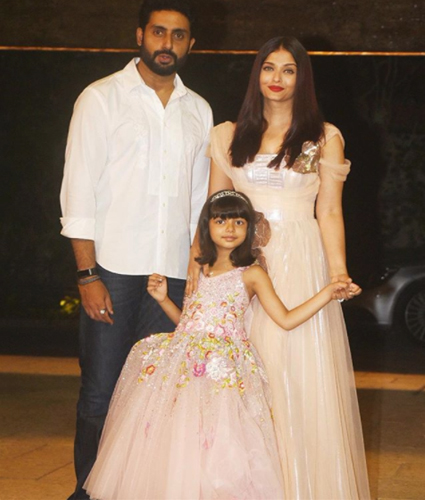 India Tv - Aishwarya Rai, Abhishek Bachchan with their daughter Aaradhya
