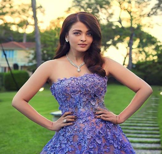 India Tv - Aishwarya Rai Bachchan in purple gown
