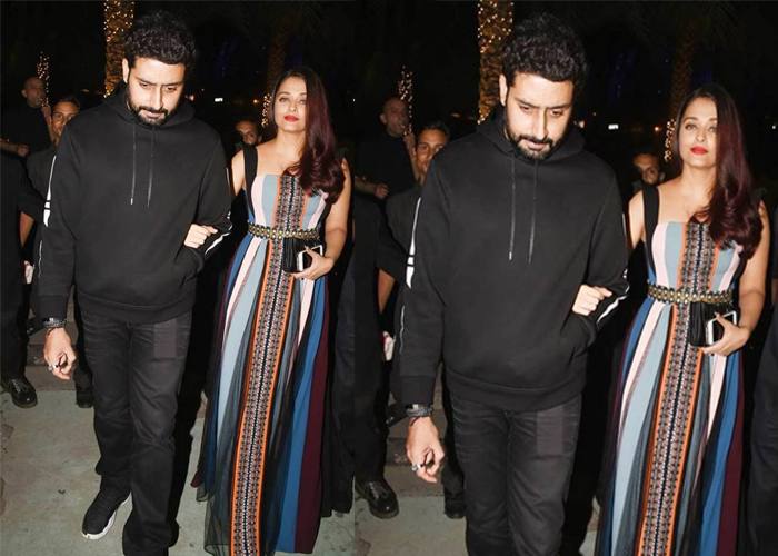 India Tv - Aishwarya Rai Bachchan at Christmas party
