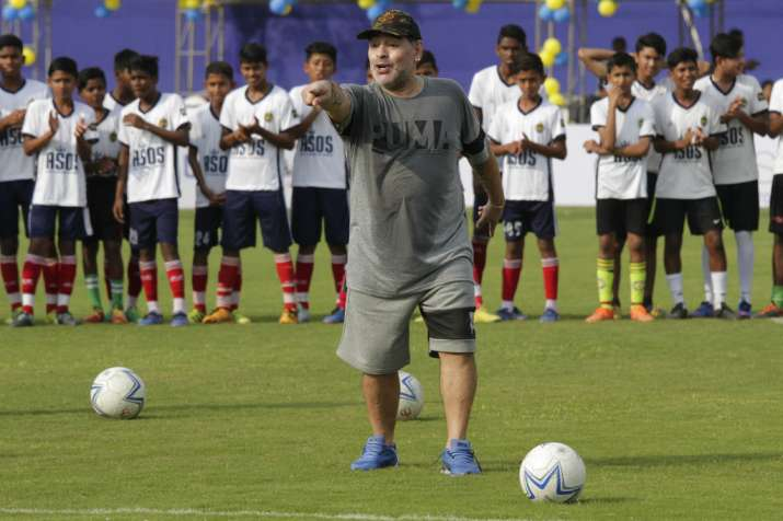 India Tv - A file image of Maradona