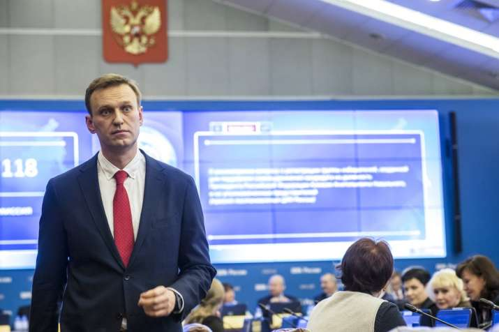 Russian opposition leader Alexei Navalny, who submitted