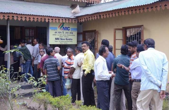 NRC Seva Kendra in Assam. File photo.