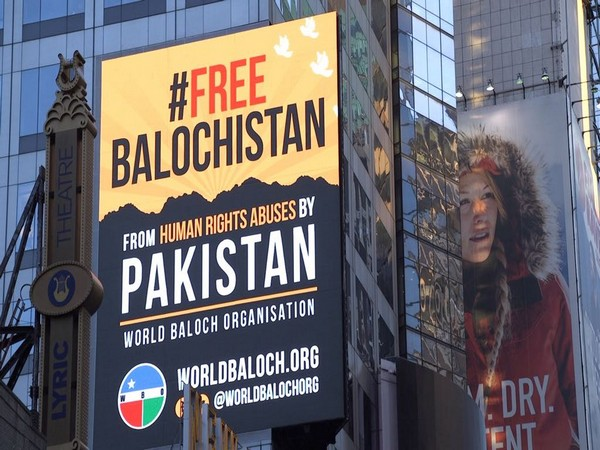 After London, '#FreeBalochistan' billboards appear on