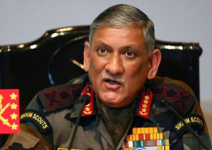 File pic - Army Chief Gen Bipin Rawat