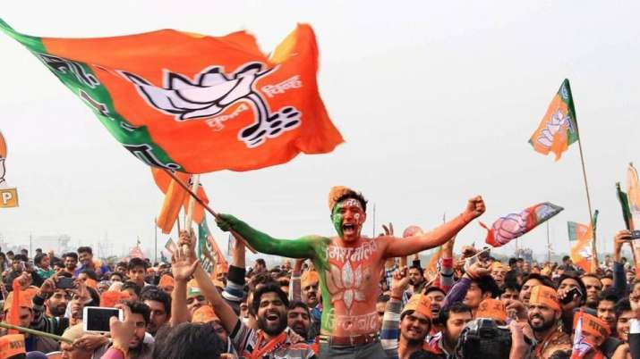 Of the 652 seats for which trends were available, the BJP