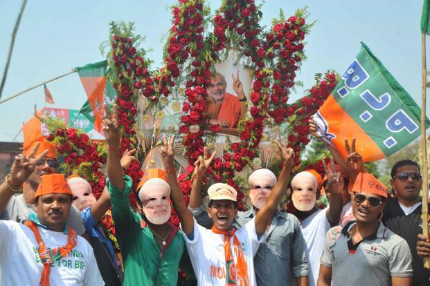 Gujarat Election Results: Celebrations in BJP camp in