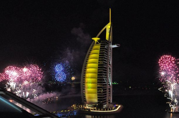 Dubai NYE celebrations 2017. File Photo.