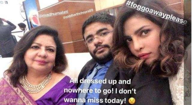Priyanka Chopra missed the ceremony due to smog