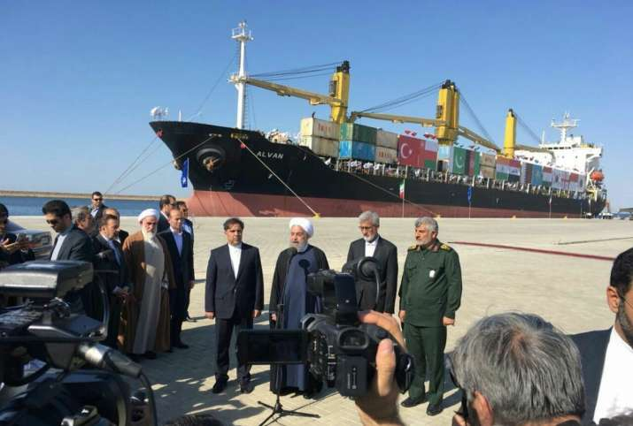 Chabahar Port, allowing India to bypass Pakistan on trade route to