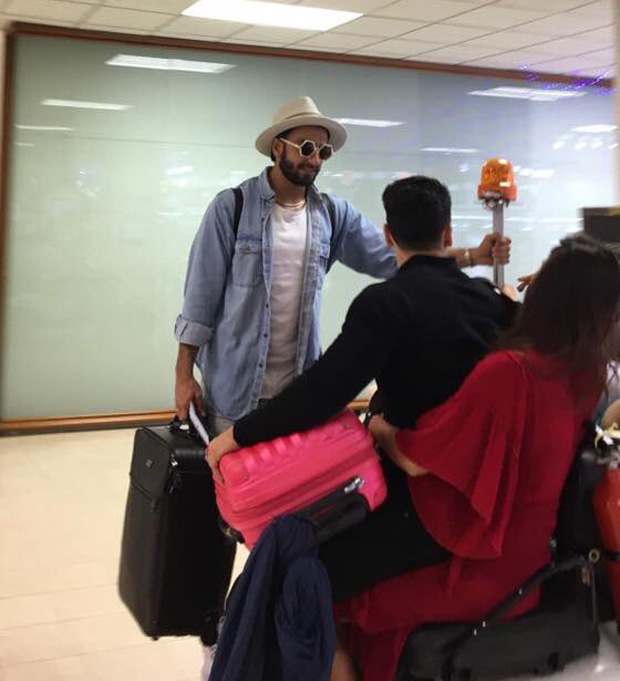 India Tv - Ranveer Singh with Tiger and Disha