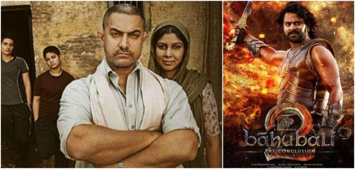 India Tv - Left- Dangal, Right- Baahubali 2