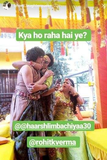 India Tv - Bharti Singh and Haarsh Limbachiyaa
