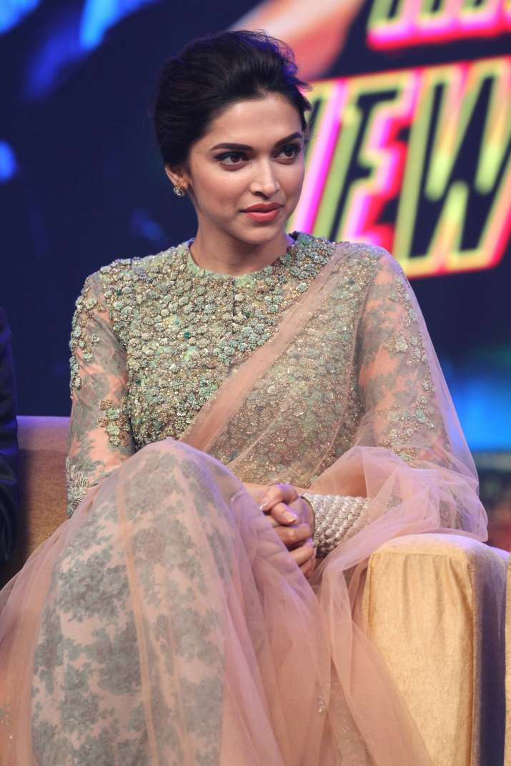 India Tv - Deepika is a true ambassador of high-neck blouses