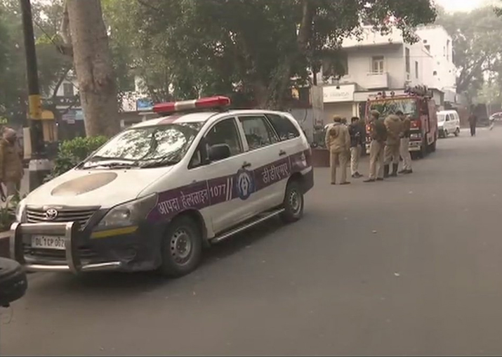 Bomb threat at Delhi's Khan Market, search operation