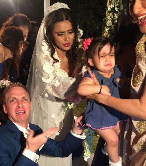India Tv - Aashka Goradia and Brent Goble's wedding